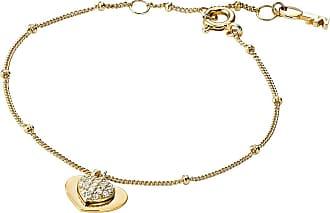Michael Kors MKC1118AN710 Love Heart Duo Bracelet Gold