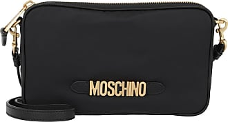 Moschino Cross Body Bags - Logo Crossbody Bag Black - black - Cross Body Bags for ladies