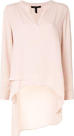 Max Azria asymmetric hem long blouse - PINK