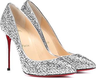 6821bbc19e20 Christian Louboutin Pumps Pigalle Follies 100 in pelle e lamé
