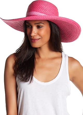 14th & Union Pop Color Straw Floppy Hat