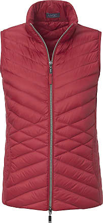 MYBC Quilted gilet stand-­up collar MYBC red