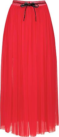 À La Garçonne nylon midi skirt - Red