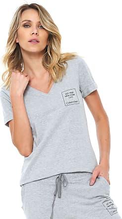 Calvin Klein Underwear Camiseta Calvin Klein Underwear Estampada Cinza