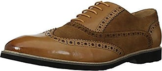 English Laundry Mens Darby Oxford Cognac 13 Standard US Width US