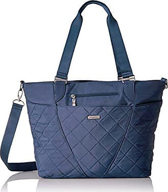 Baggallini Quilted Avenue Tote with RFID, Slate