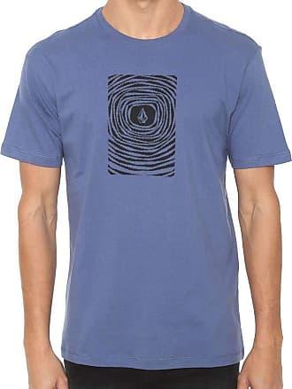 Volcom Camiseta Volcom Silk Engulf Azul Marinho