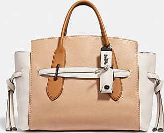 Coach Shadow Carryall In Colorblock in Beige