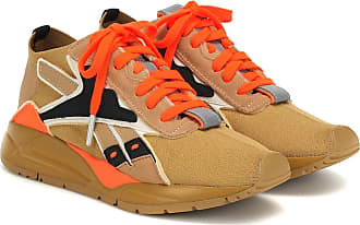 Reebok Bolton Sock Low leather-trimmed sneakers