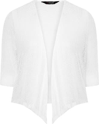 Yours Clothing Clothing Womens Plus Size Shrug Size 30-32 White