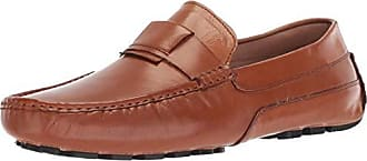 Zanzara Mens Newton Driving Style Loafer Cognac 10 M US