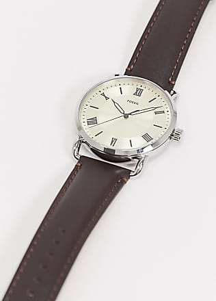 Fossil Copeland brown leather watch FS5663
