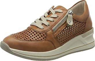 Remonte Womens D3200 Low-Top Sneakers, Brown (Noccia 24), 6.5 UK