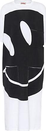 Raf Simons Printed cotton midi dress