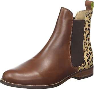 Joules Womens Westbourne Chelsea Boots, Brown (Leopard), 7 UK (40/41 EU)