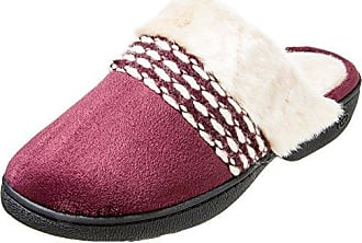 e2261019d2b03 Isotoner Isotoner Womens Erica Microsuede Clog Slippers