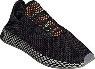 Adidas Deerupt Runner W Chalk Blue Chalk , Blauweiss schwarz,41 13