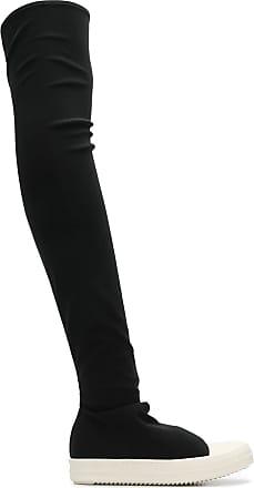 Rick Owens knee-length sneaker-boots - Black