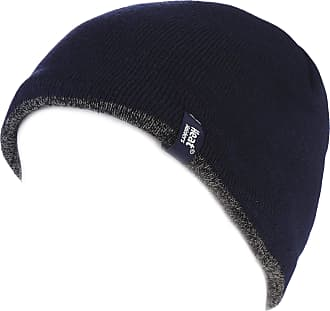 Heat Holders Mens 1 Pack Contrast Thermal Hat One Size Navy