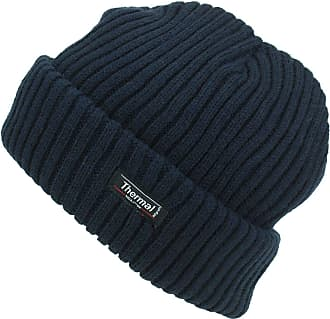 Hawkins Thinsulate Chunky Knit Beanie Hat - Navy