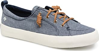 f451f1b7b8c Sperry Top-Sider Crest Vibe Crepe Chambray - Sneakers voor Dames / Blauw