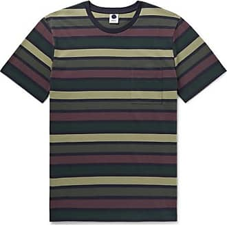 Nn.07 Barry Slim-fit Striped Cotton-jersey T-shirt - Multi 2e0f22cf01334