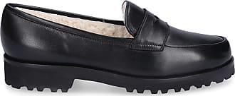 Unützer Loafer 1471 Nappaleder schwarz