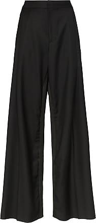 Wales Bonner Calça pantalona - Preto