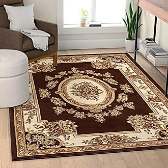 Well Woven 36374 Timeless Le Petit Palais Traditional Medallion Brown Area Rug 311 x 53
