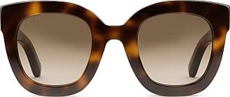 efc3e46141a Gucci Gafas de Sol con Montura Redonda de Acetato con Estrella