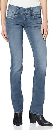 Pepe Jeans London Womens Gen Straight Jeans, Blue (Powerflex Medium Used 000), One (Size: W26/L32)