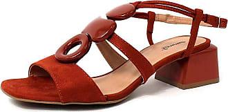 Damannu Shoes Sandália Anitta - Cor: Vermelho - Tamanho: 39
