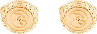 Dolce & Gabbana Abotoaduras com logo - Dourado