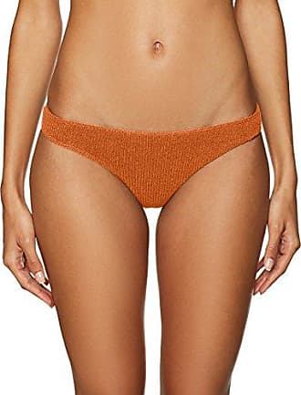 711e35e787 Lolli Womens Rolo Knit Basic Bikini Bottom, Rusty, XS