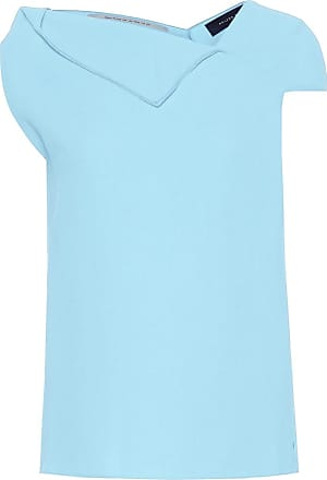 Roland Mouret Raywell wool crêpe top