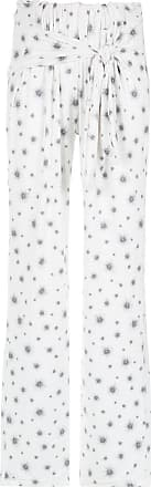 OLYMPIAH printed trousers - White