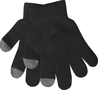Childrens Thermal Touch Screen Smart Phone Warm Winter Gloves grey