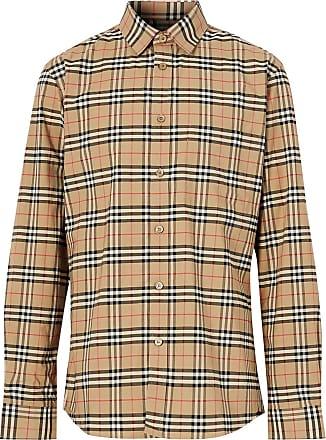 Burberry Camisa xadrez - Neutro