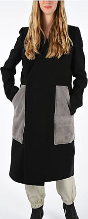 Rick Owens Virgin Wool Linen Blend PATCH Coat size 44
