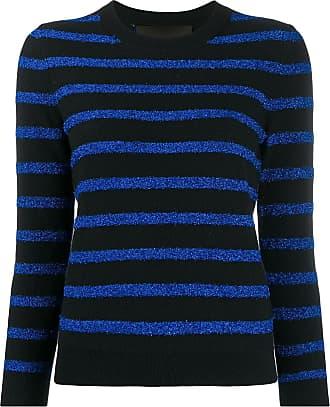 Marc Jacobs Suéter listrado com brilho - Azul