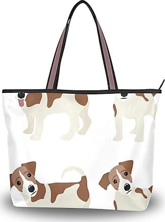 Lorona Women Curious Dachshund Dog Canvas Shoulder Hand Bag Large Capacity Tote Bag