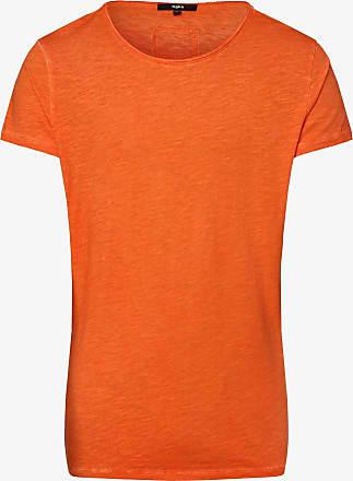 Tigha Herren T-Shirt - Vito Slub orange