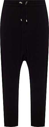 Balmain Loose-fitting Trousers Mens Black