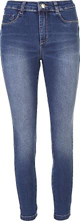 Sawary Calça Jeans Sawary Skinny Cropped Heart Azul