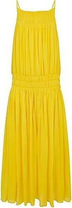 Three Graces London Gisella Dress in Yellow