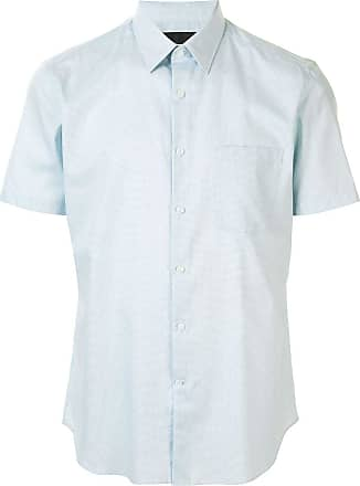 Durban short sleeve patch pocket shirt - Azul