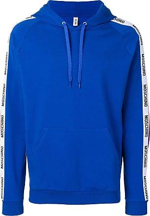 Moschino logo hoodie - Blue