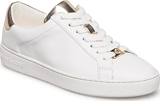 Michael Kors Irving Lace Up Låga Sneakers Vit Michael Kors Shoes