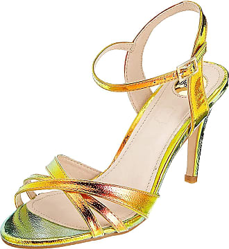 Buffalo Anja, Womens Ankle Strap Sandals, Multicolour (Rainbow 000), 5 UK (38 EU)