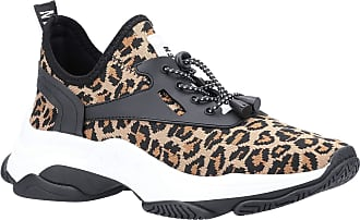 Steve Madden Womens Match Lace Up Thick Sole Trainers